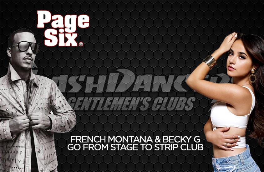 French Montana Becky G at FlashDancers