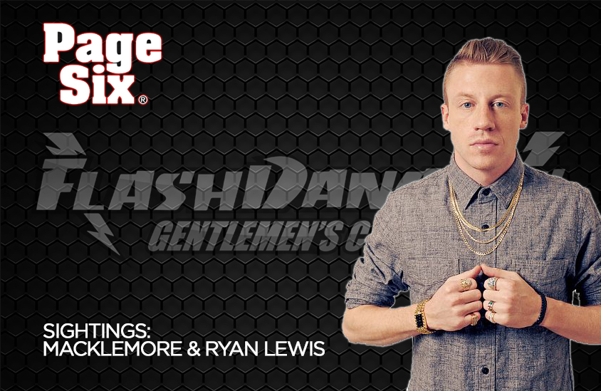 Macklemore & Ryan Lewis at FlashDancers