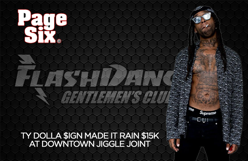Ty Dolla Sign at FlashDancers