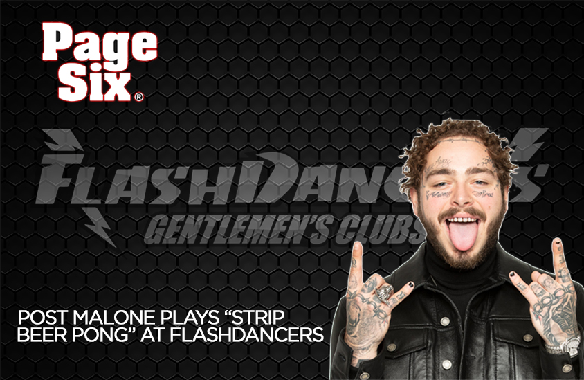 Post Malone At Flashdancers
