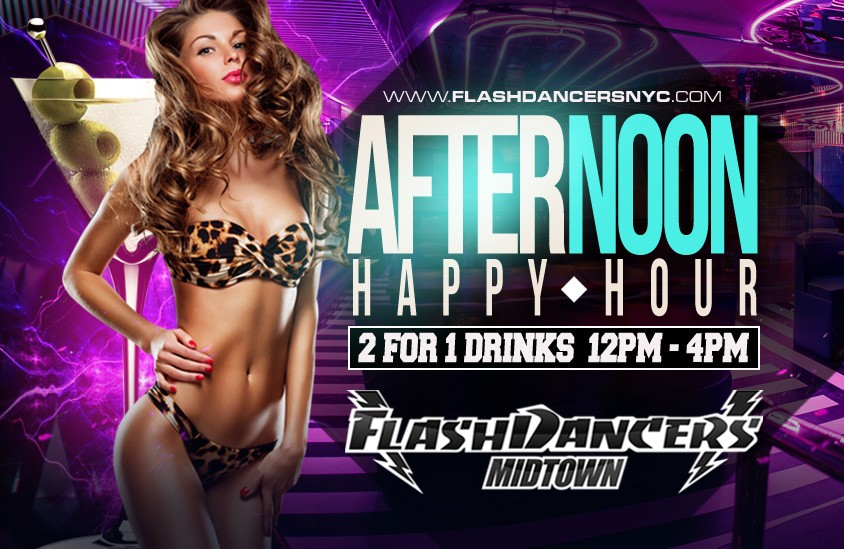FlashDancers Midtown Happy Hour