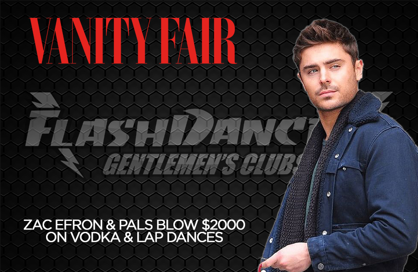 Zac Efron at FlashDancers